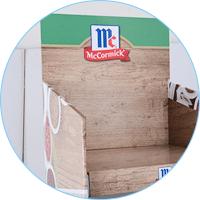 cardboard box stand