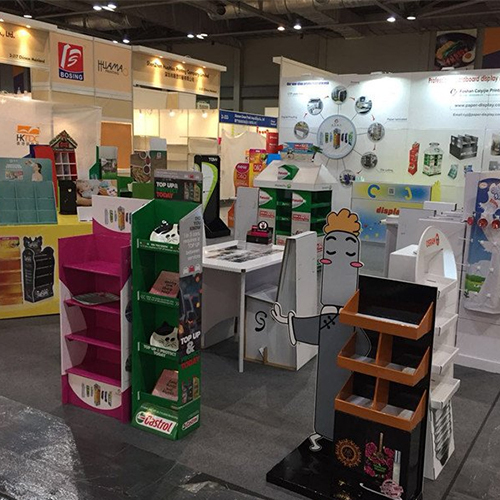 CaiYiJie attend HongKong International Printing and Packaging Fair with international partners