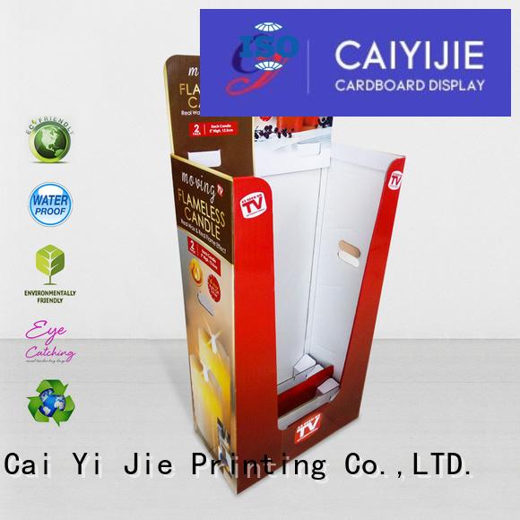 display daily floor dumpbin CAI YI JIE Brand company