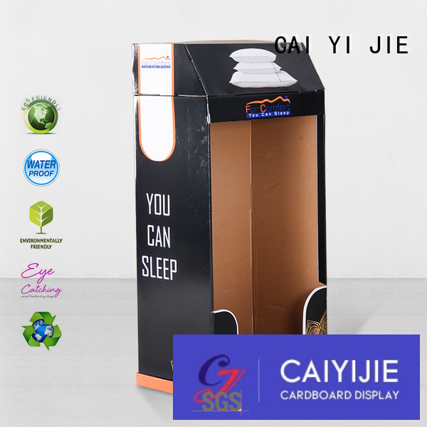 cardboard greeting card display stand stairglossy Bulk Buy plastic CAI YI JIE