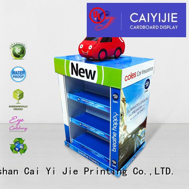 mobile install racks pallet display pos CAI YI JIE Brand