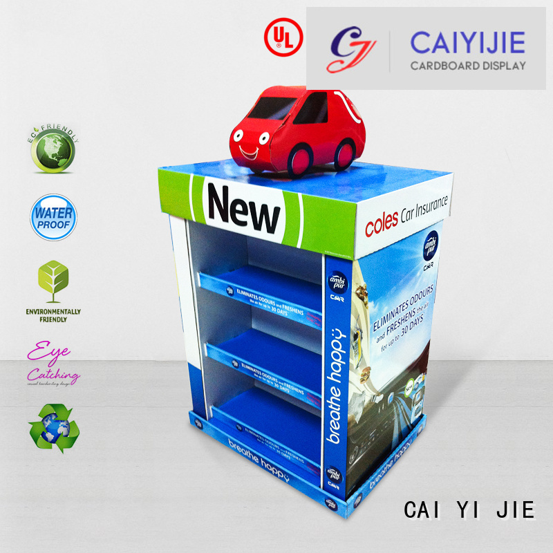 CAI YI JIE Brand stores clip plastic pallet display