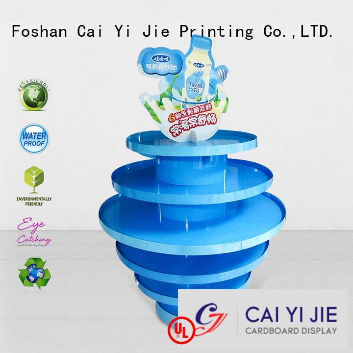 CAI YI JIE easy pallet display plastic clip