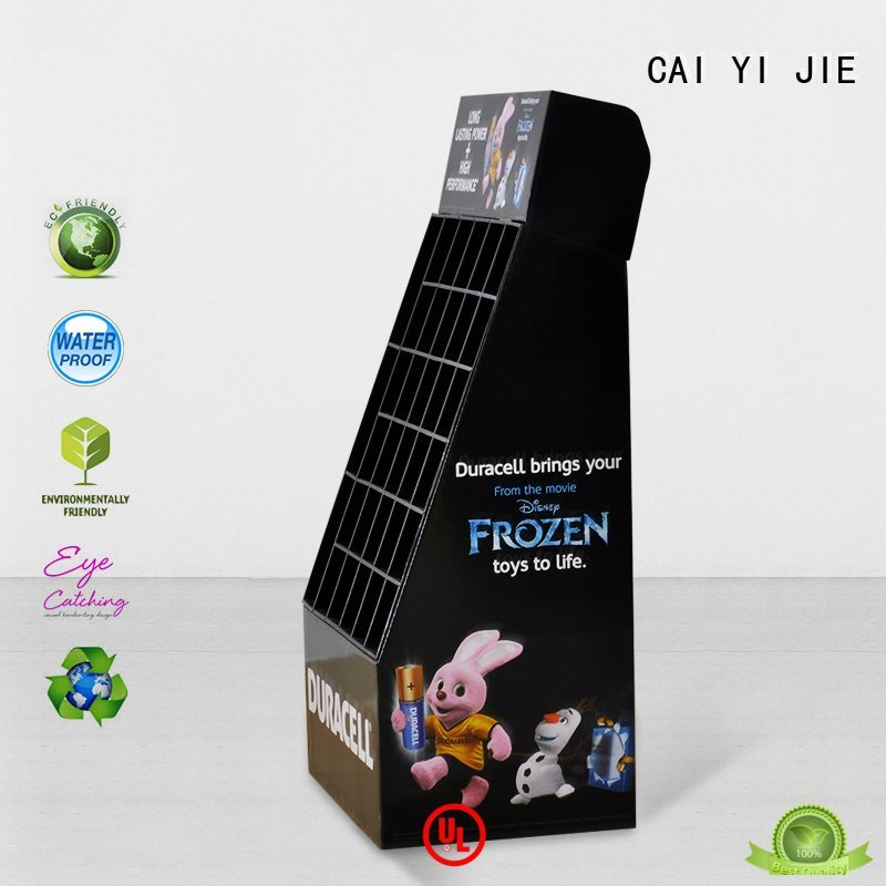 CAI YI JIE space cardboard stand clip point