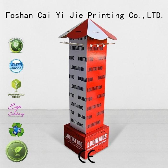 stair counter hook display stand display CAI YI JIE company