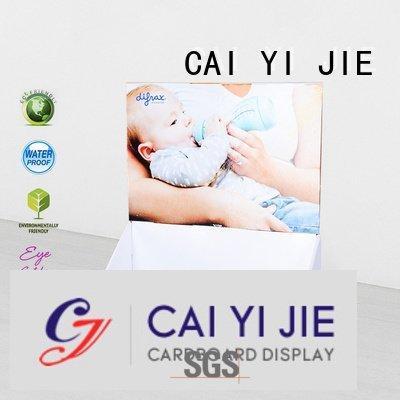 display products printed custom cardboard counter displays CAI YI JIE