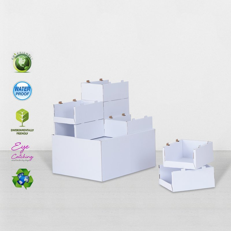 Corrugated Carton Display For Advertising Promoting