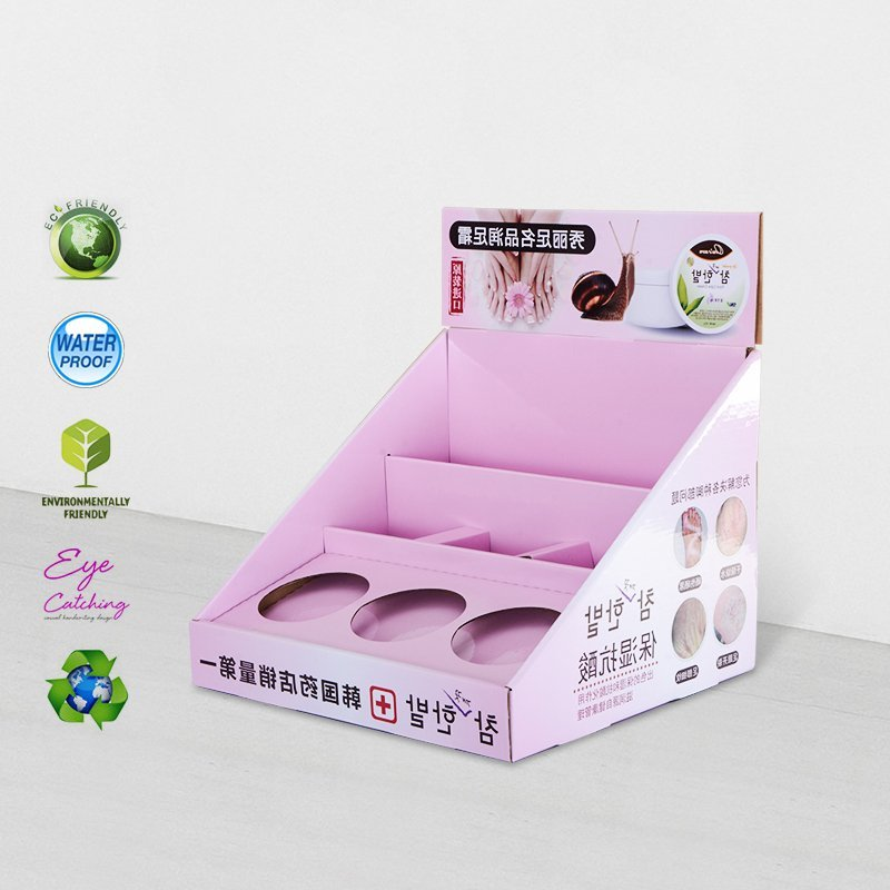 Cardboard Counter Display For Retail Product Promotional