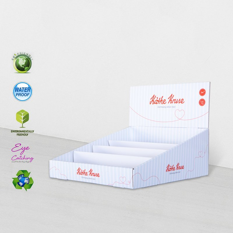 Cardboard Counter Display Boxes For Supermarkets Promotional