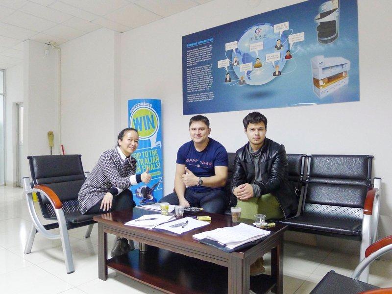 Russian Customer Buy Cardboard Lama/Standee for Brand Promotion
