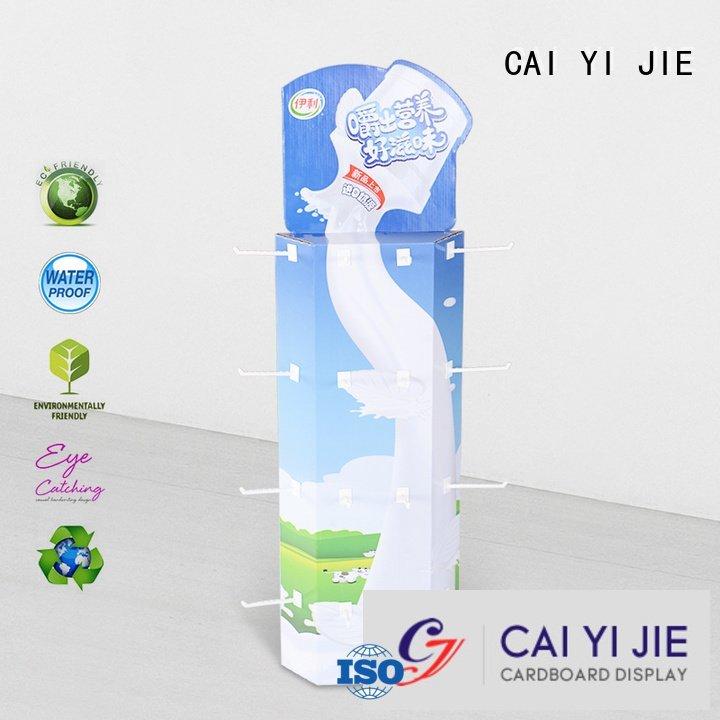 power corrugated CAI YI JIE sidekick display rack
