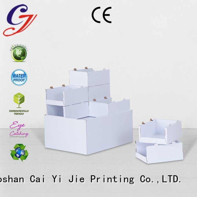 cardboard pallet display racks cardboard pallet display CAI YI JIE Warranty