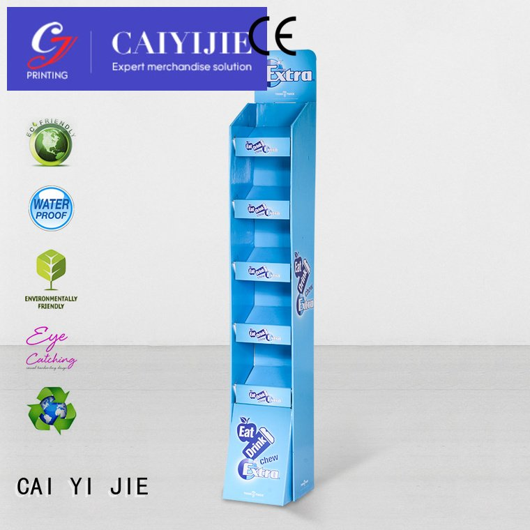 Find cardboard floor retai displays stiand with plastic clip cardboard greeting card display stand large cardboard stand promotional m4hsunfo