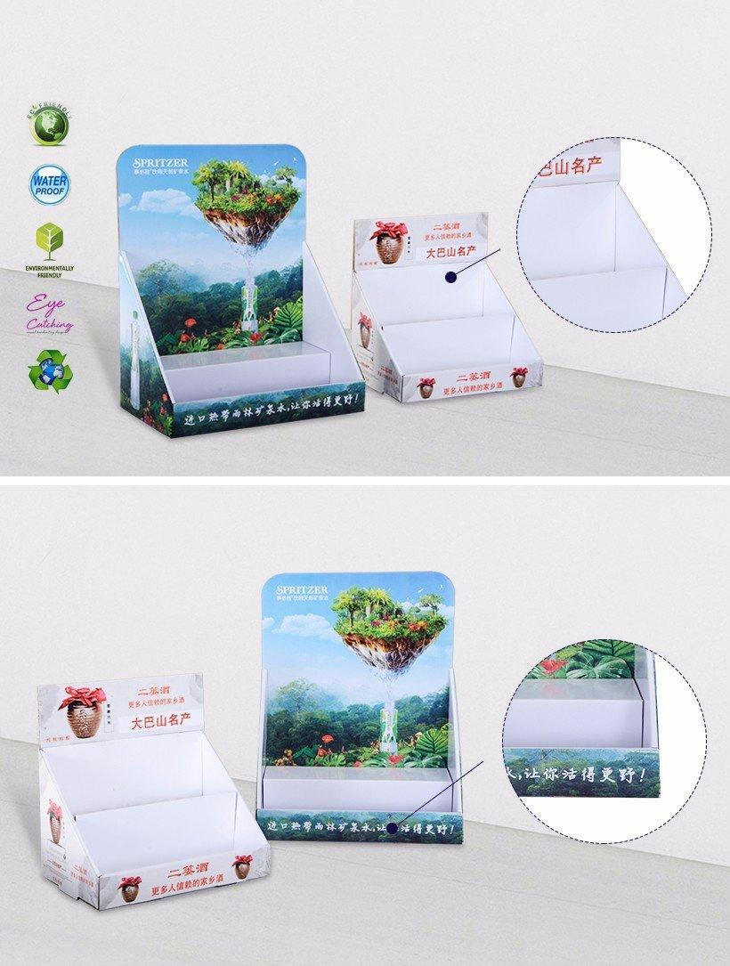 Cardboard Display Units For Chain Stores Promotional Sale