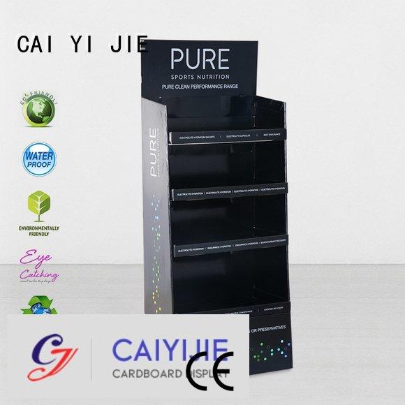 Custom retail cardboard stand super cardboard greeting card display stand