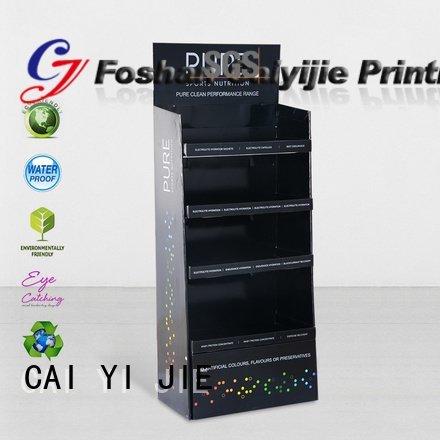 cardboard greeting card display stand stores display CAI YI JIE Brand