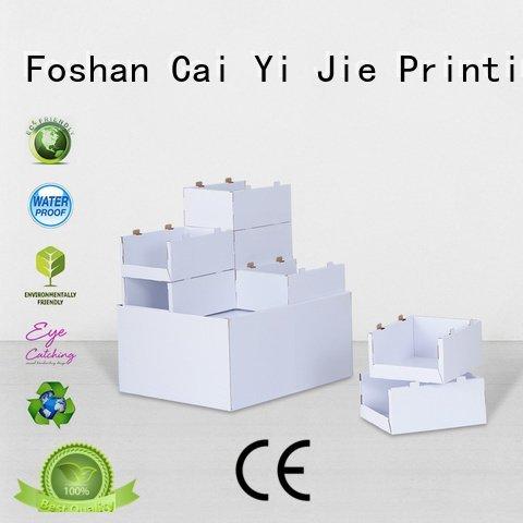 carton corrugated CAI YI JIE cardboard pallet display