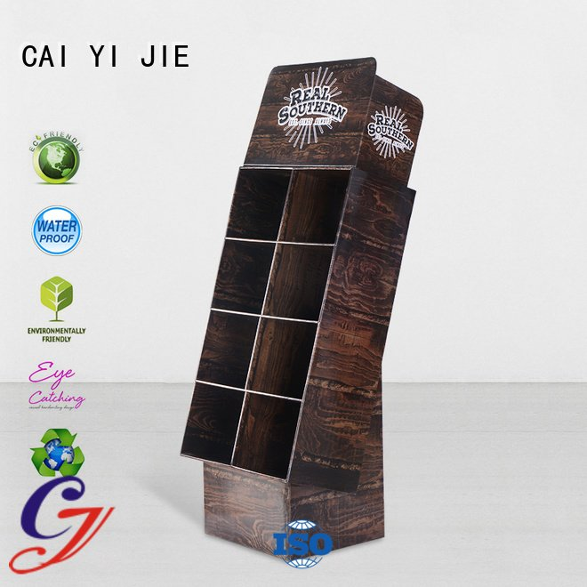 Best fashion cardboard pop displays for chain stores manufacture chain cardboard stand cai yi jie cardboard greeting card display stand m4hsunfo