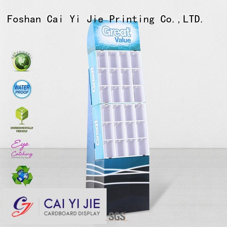 Custom hook display stand marketing supermarket step CAI YI JIE