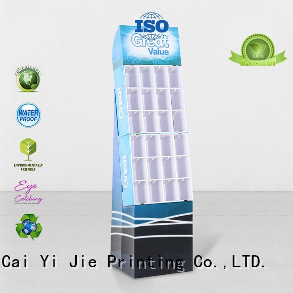 counter hook display stand color hook display stand CAI YI JIE