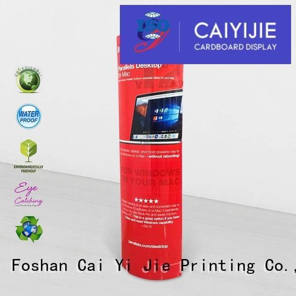 OEM lama display cardboard stands advertising lama display