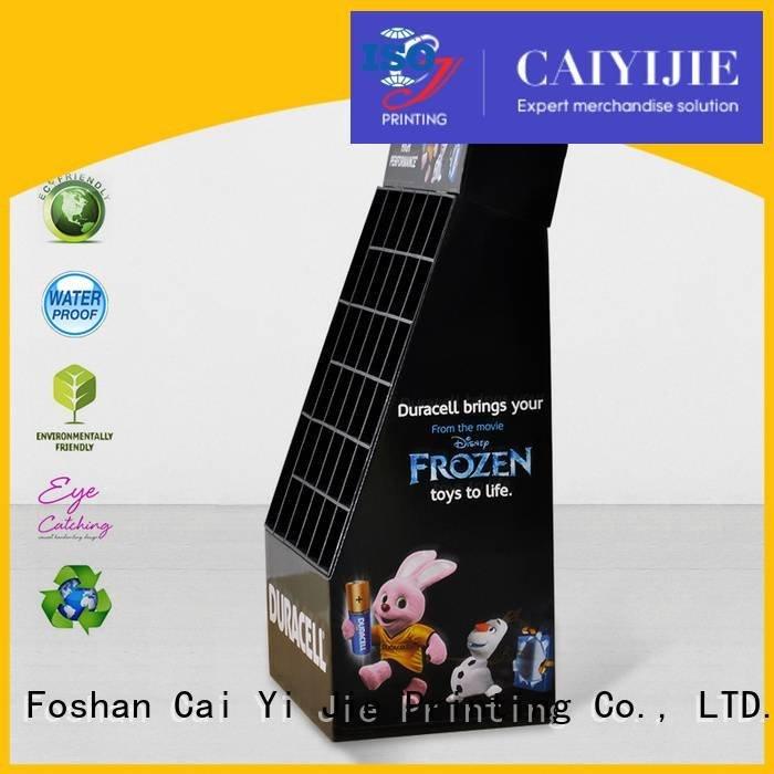 cardboard greeting card display stand Otherproducts cardboard stand CAI YI JIE