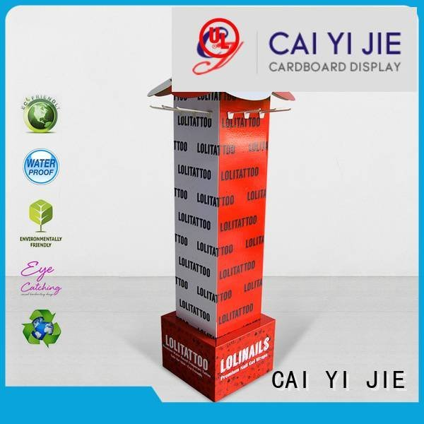 counter hook display stand Supplyability hook display stand CAI YI JIE Brand