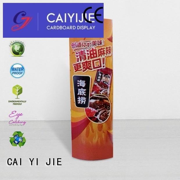 lama display lama cardboard promotional CAI YI JIE Brand lama display