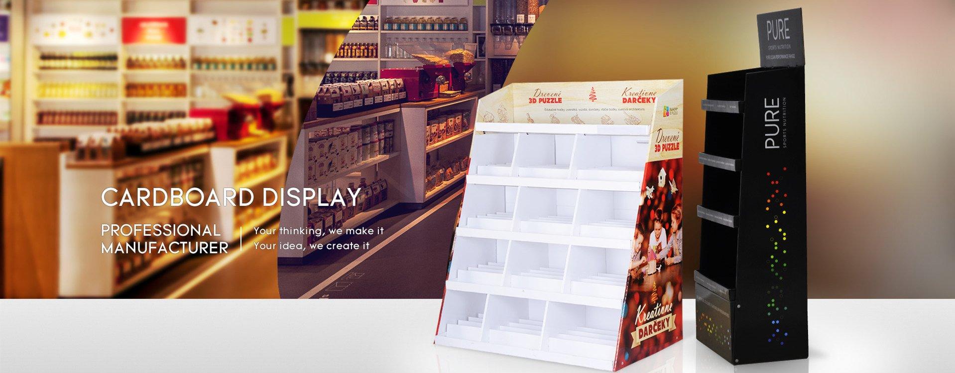 wholdale cardboard display
