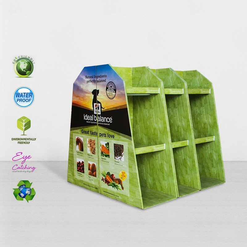 Goods Cardboard Pallet Display