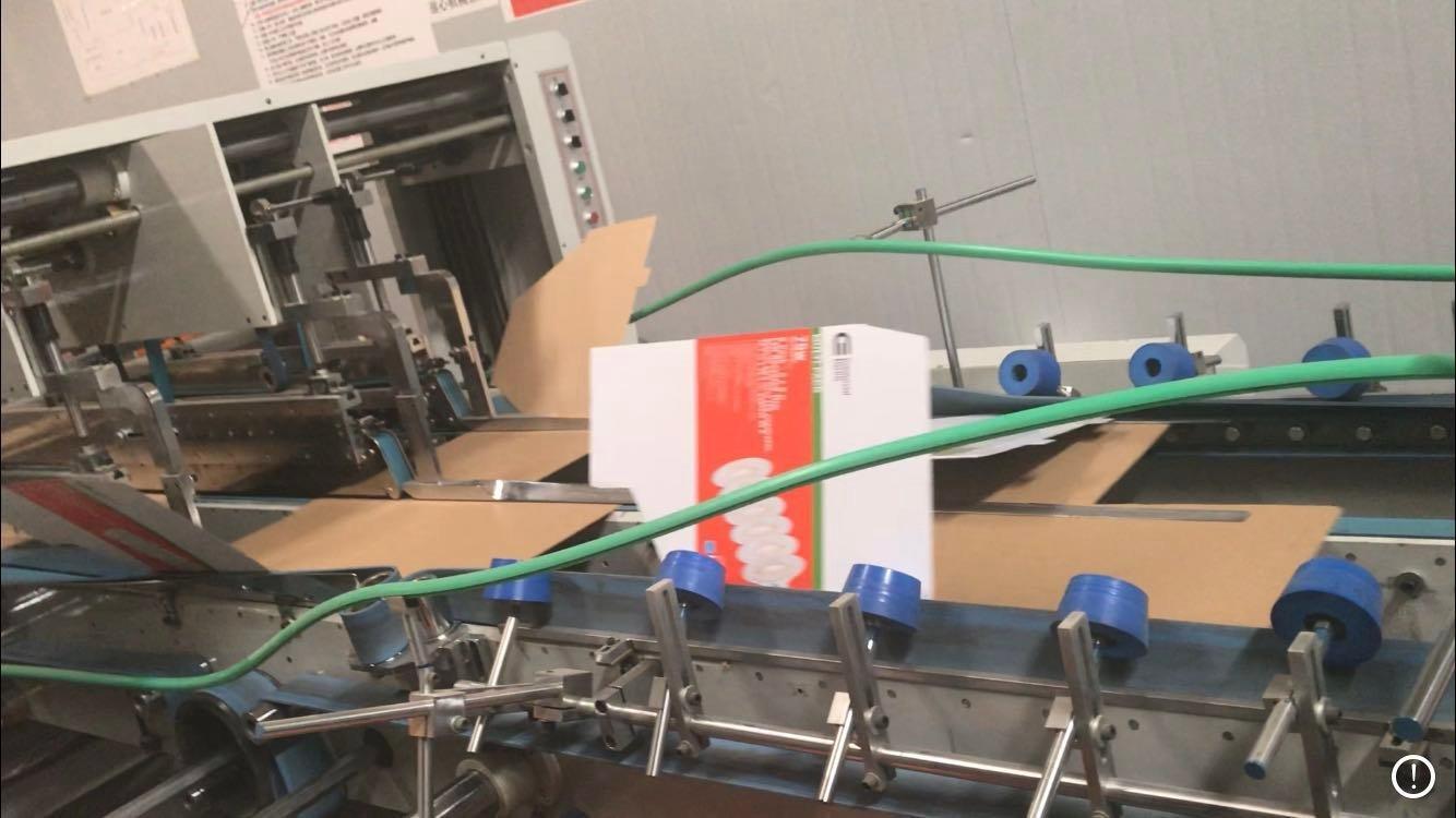 CaiYiJie Cardboard Display-Automatic glue line