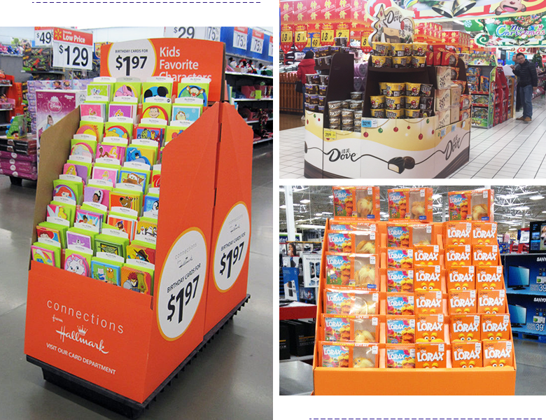 cardboard marketing displays