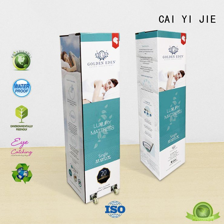 corrugated cardboard boxes cardboard packaging CAI YI JIE Warranty