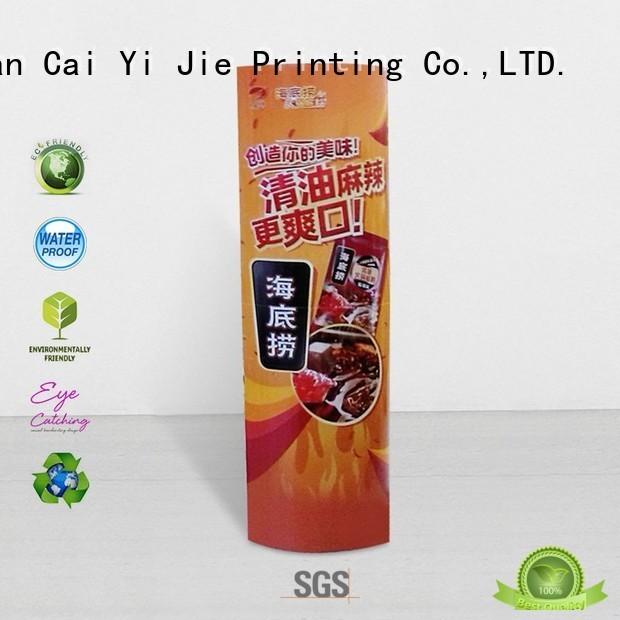 Hot lama display stands CAI YI JIE Brand