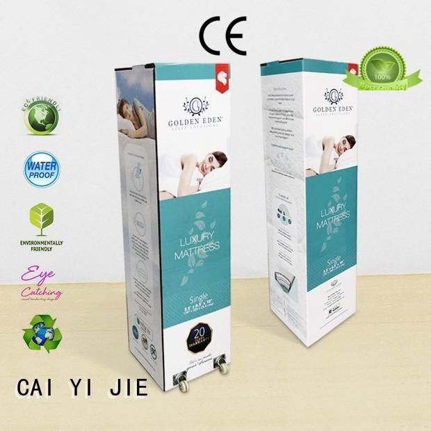 Hot corrugated cardboard boxes CAI YI JIE Brand