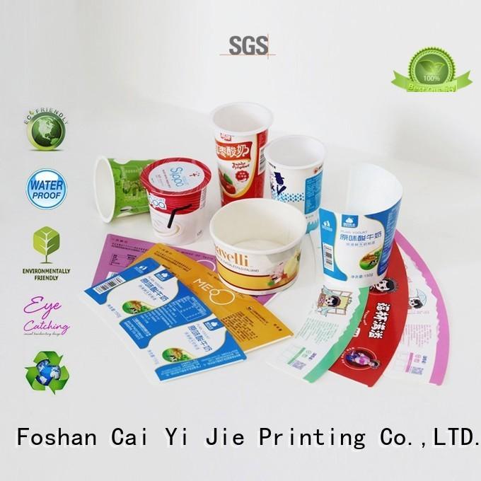 corrugated cardboard boxes CAI YI JIE Brand