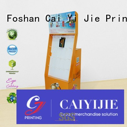 full color counter hook display stand CAI YI JIE