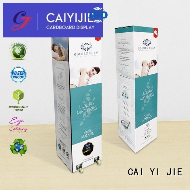 corrugated cardboard boxes CAI YI JIE Brand cardboard packaging