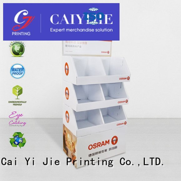 stiand product cardboard stand stair CAI YI JIE